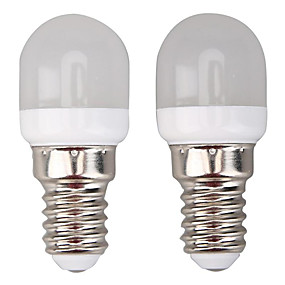 ieftine Becuri LED Glob-10pcs 2 W Bulb LED Glob 300 lm E14 8 LED-uri de margele SMD 2835 Alb Cald Alb 220-240 V