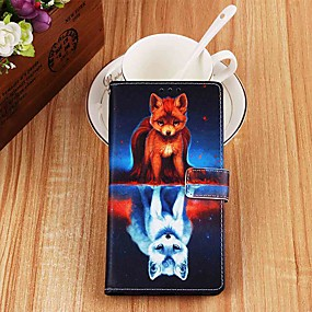 cheap Daily Deals-Case For Samsung Galaxy S9 / S9 Plus / S8 Plus Wallet / Card Holder / with Stand Full Body Cases Animal PU Leather