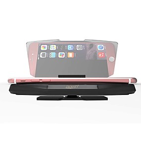 voordelige Auto-elektronica-ziqiao auto hud head-up display gps-navigatie projector telefoonhouder reflecter draadloze armband voor iphone samsung huawei