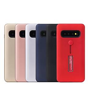voordelige Galaxy S7 Hoesjes / covers-hoesje Voor Samsung Galaxy S9 / S9 Plus / S8 Plus met standaard Achterkant Effen PC
