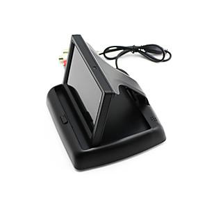 voordelige Auto-elektronica-automonitor 4,3 inch display voor achteruitkijkcamera opvouwbaar kleuren tft lcd hd-scherm voor achteruitrijcamera
