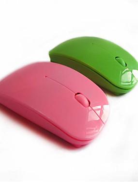 رخيصةأون أجهزة ماوس & لوحات مفاتيح-لاسلكي ماوس مكتب 3 بطارة AA تعمل بالطاقة