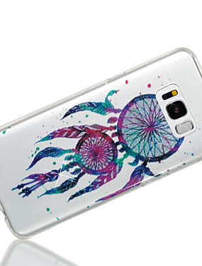 cheap Samsung Accessories New Arrivals-Case For Samsung Galaxy S8 Plus / S8 IMD / Pattern Back Cover Dream Catcher / Glitter Shine Soft TPU for S8 Plus / S8 / S7 edge