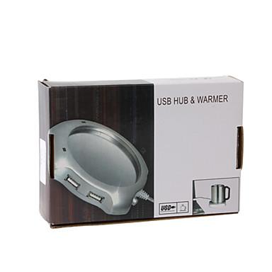 usb kaffe varmare + 4 ports USB 2.0 hub