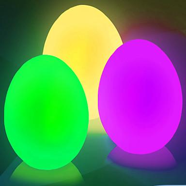Меняющий цвета светильник в форме рождественского яйца (CEG421)