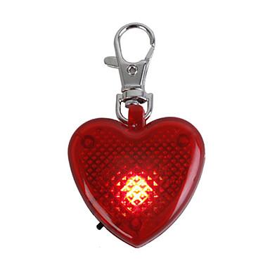 piccoli animali domestici di razza paraocchi pulsante rosso con la torcia elettrica