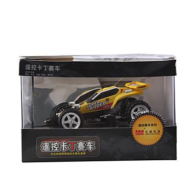 competizione radiofonica da corsa kit auto da corsa di controllo (giallo)