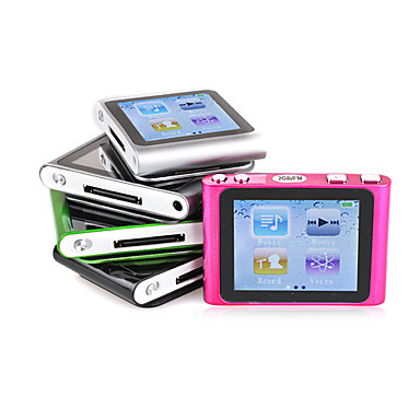 MusicTube - 6GEN Style MP3 Player (1GB, 5 Colors)