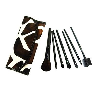 7pcs Makyaj fırçaları Profesyonel Fırça Setleri Keçi Kılı Fırça / Naylon Fırça / Diğerleri Klasik / Orta Fırça / Küçük Fırça