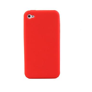 Carcasa de Protección de Silicona para el iPhone 4 - Colores Aleatorios
