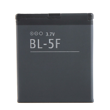 1500mAh vaihto matkapuhelin akku BL-5F Nokia 6210si/6290 ja enemmän