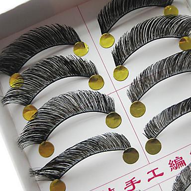 Natural Looking Lengthening False Eyelashes(10 Pair)