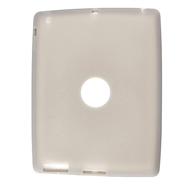 Silicon Case for iPad 2 With A Hole In The Back (Grey)
