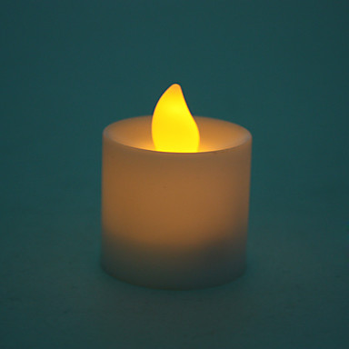 Kerzenform gelbe LED-Nachtlicht