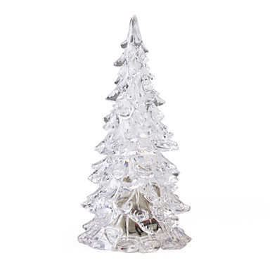 Crystal Christmas Tree Design Colorful LED Light