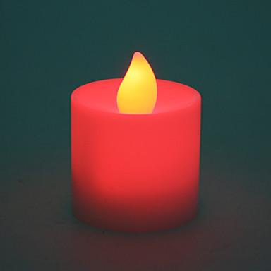 LED-kynttilä valo - punainen valo