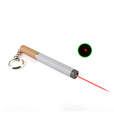 3 en 1 bola blanca linterna lápiz puntero de láser rojo