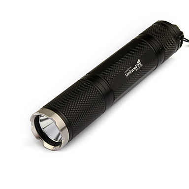 LED Flashlights/Torch / Handheld Flashlights/Torch LED 5 Mode 1000 Lumens Cree XM-L T6 18650 Black Aluminum alloy