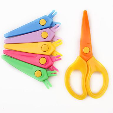 Various Lacework Effect Paper-Cut Scissor Set