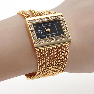 Pentru femei Ceasuri de lux Ceas de Mână ceas de aur Quartz Auriu cald Vânzare Analog femei Charm Modă Un an Durată de Viaţă Baterie / SSUO SR626SW