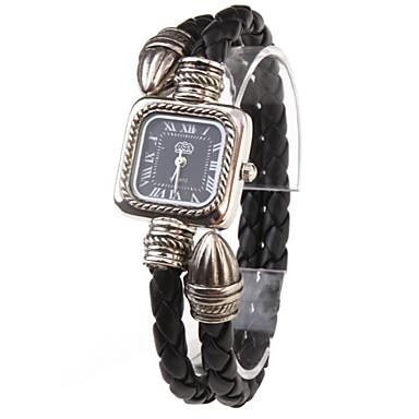 Kadın's Moda Saat Bilezik Saat Quartz Bant Bohem Siyah