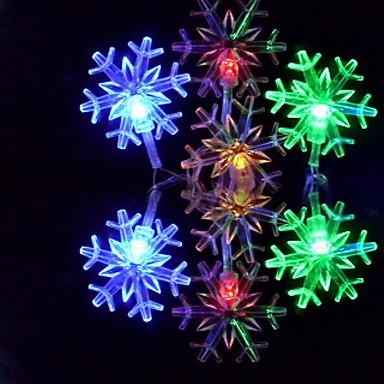 6m Dizili Işıklar 32 LED'ler RGB Renk Değiştiren 110-220 V
