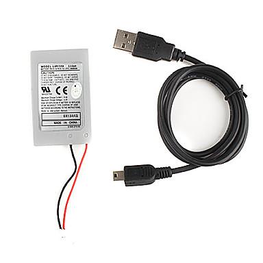 udskiftning 1800mAh lithium batteri til PS3 trådløs DUALSHOCK controller