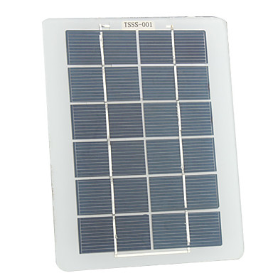 2.5W Portable Solar Charger/Panel for Cellphones/More