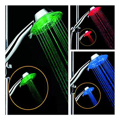 LED Shower Head Light Water Sensor Plastic
