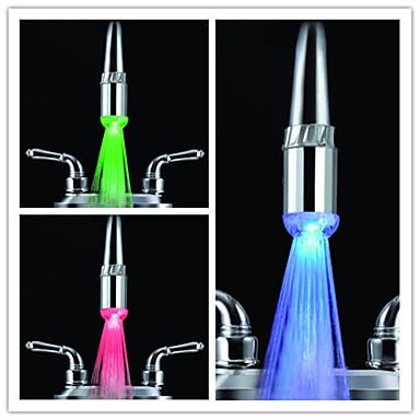 Handy Trends Nozzle Kitchen LED Faucet Light (Plastic, Chrome Finish)