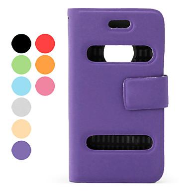 protection flip style cas pu pochette en cuir pour iPhone 4 et 4s