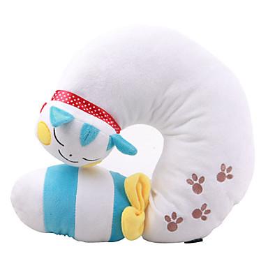 u de type oreiller (chat, blanc)
