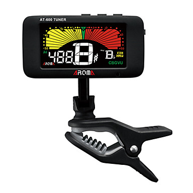 Tree Color Backlight Clip / Mic Tuner for All Instruments