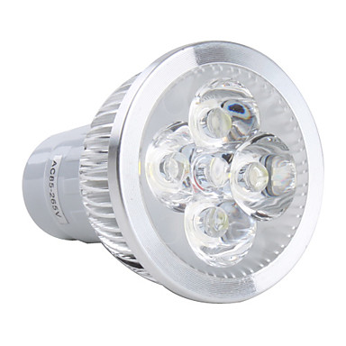 GU5.3(MR16) LED Spot Işıkları MR16 4 Yüksek Güçlü LED 360 lm Doğal Beyaz AC 85-265 V