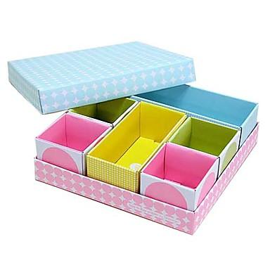 Organizer Boxes,Paper Desktop Organizer