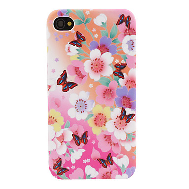 Colorful Floral Styled Protective Case for iPhone 4 and 4S