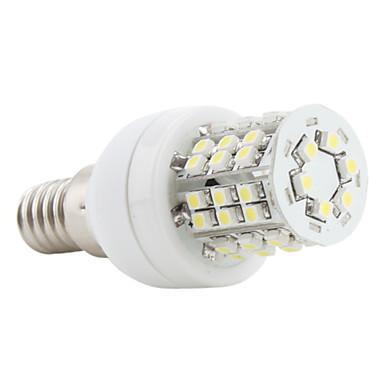 3W E14 LED Mısır Işıklar 48 SMD 3528 150 lm Doğal Beyaz AC 220-240 V