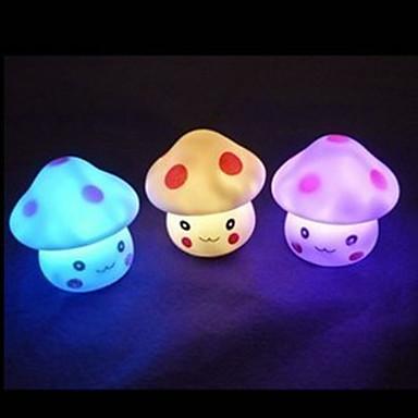 belle style de champignons nuit humeur légère (couleur aléatoire)