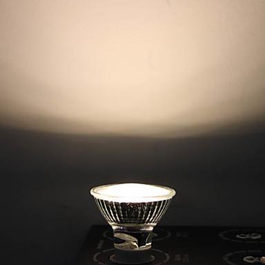 1W GU10 LED-spotlampen MR16 12 Dip LED 90 lm Warm wit AC 110-130 V