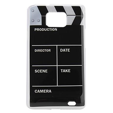 Movie Pattern Style Glazing Protective Hard Case for i9100