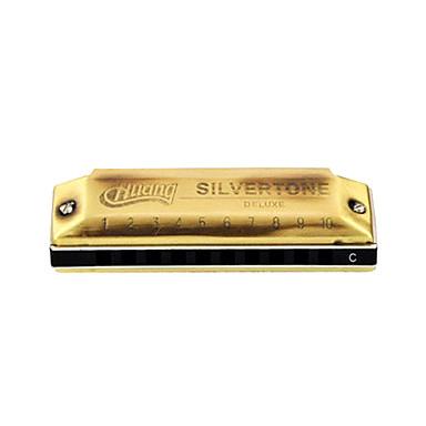 huang - (103-a) Blues Harp archaize hamonica c key/10 holes/20 tons