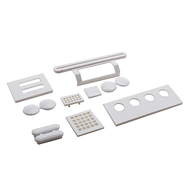 Anti-Dust Guard Filter and Disc Cleaner Kit for Nintendo Wii (White)