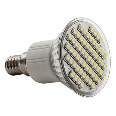 6000lm E14 Faretti LED PAR38 60 Perline LED SMD 3528 Bianco 220-240V