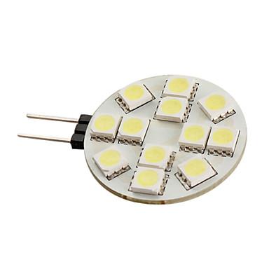 g4 12x5050 SMD 144lm weiße LED-Lampe für Auto (12V)