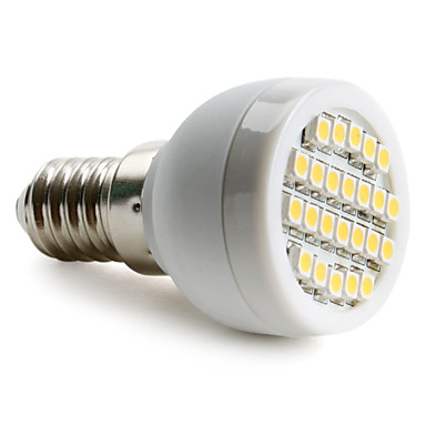 1.5W 2700 lm E14 G9 E26/E27 LED-spotlampen 24 leds SMD 3528 Warm wit Natuurlijk wit AC 220-240V