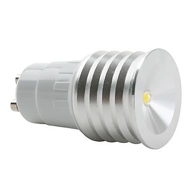 Focos GU10 W 1 LED de Alta Potencia 200 LM 3000K K Blanco Cálido AC 85-265 V