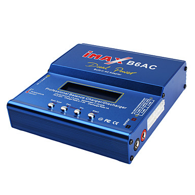 imax Chargeur équilibre b6ac pour nicd nimh li-li-ion polymère batteries pb