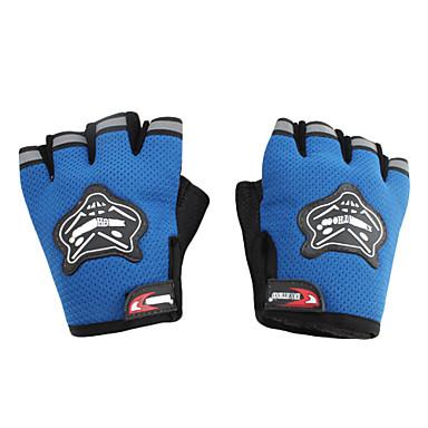 KNIGHTHOOD Outdoor Half Finger Sport Gloves (Random Color)