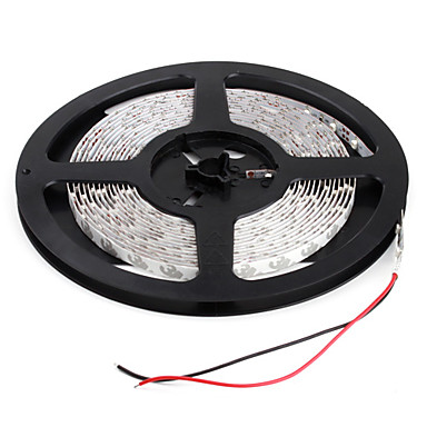 5m 20w 300x3528 SMD geel licht led strip lamp (12v)