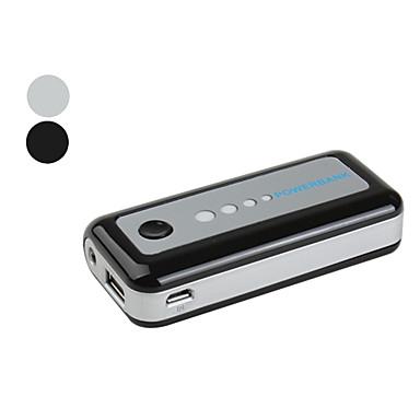 externt batteri för iPhone och mobiltelefoner (5600mah, blandade färger)